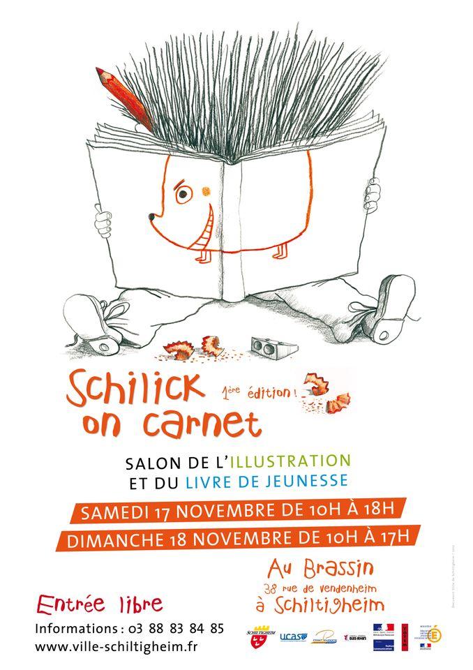 Schilick on carnet – salon de l'illustration et du livre de jeunesse