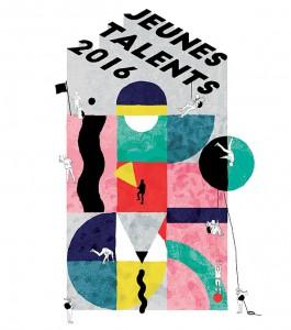 Affiche Jeunes Talents du FIBD par Camille Debray