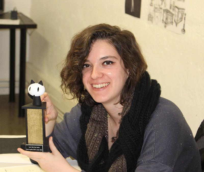 Lauréate Jeunes Talents Angoulême 2016