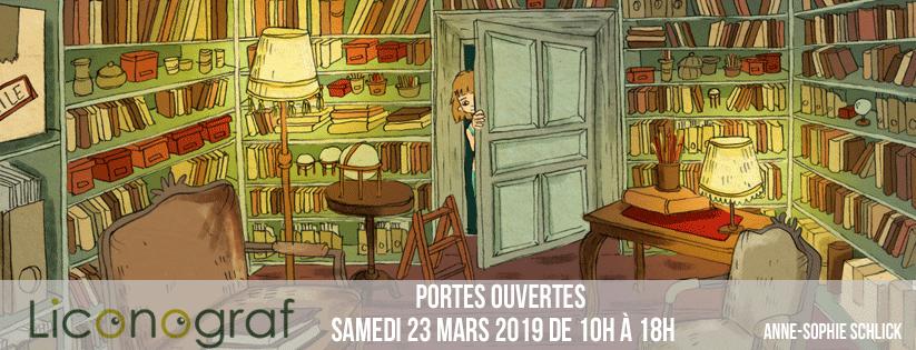 Portes ouvertes de L'iconograf le 23 Mars 2019 !